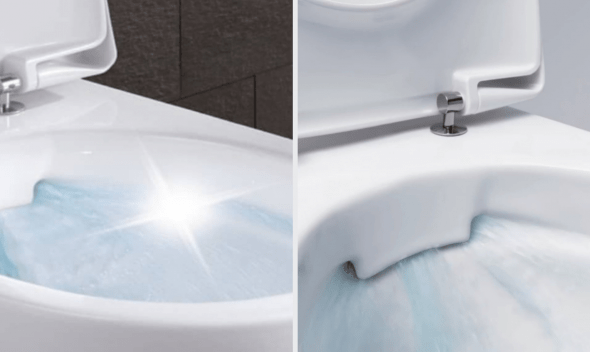 Rimfree WC школка