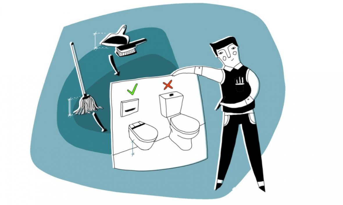 Како да го скратите времето за чистење на вашата бања