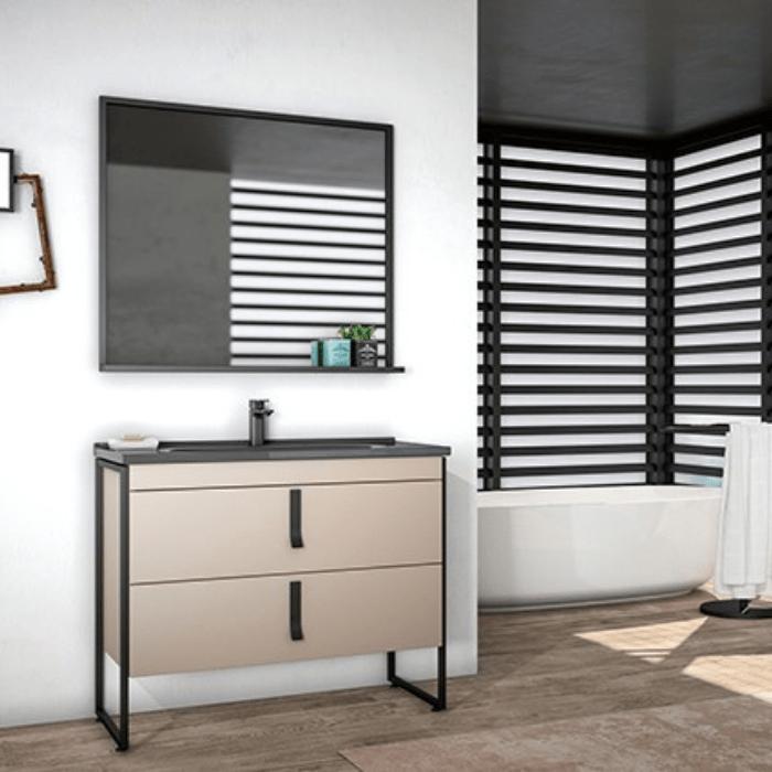 Мебел за бања Modena Cappucino 80 cm